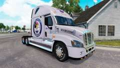 Pele Protegida Terra para um trator Freightliner Cascadia para American Truck Simulator