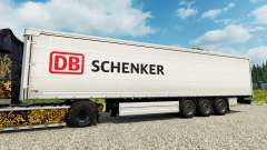 DB Schenker pele para engate de reboque para Euro Truck Simulator 2