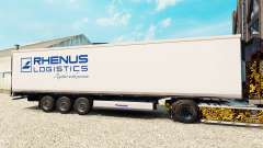 Pele Rhenus Logística para o semi-refrigerados para Euro Truck Simulator 2