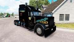 Smith Transporte de pele para o caminhão Peterbilt 389 para American Truck Simulator