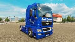Urtiga Transportes de pele para HOMEM caminhão para Euro Truck Simulator 2