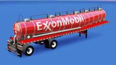 Pele ExxonMobil química tanque para American Truck Simulator