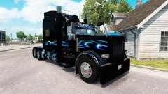 Bluesway pele para o caminhão Peterbilt 389 para American Truck Simulator