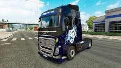 Pele elegante para a Volvo caminhões para Euro Truck Simulator 2