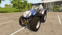 New Holland T7.270 Heavy Duty Blue Power para Farming Simulator 2017