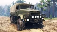 KrAZ-5131ВЕ v3.0 para Spin Tires