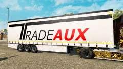 Cortina semi-reboque Krone Tradeaux para Euro Truck Simulator 2