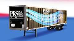 Pele PRS Guitarras no trailer para American Truck Simulator