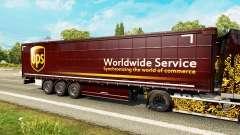 Pele UPS para reboques para Euro Truck Simulator 2