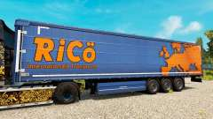 Pele Rico em reboques para Euro Truck Simulator 2