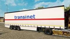 Cortina semi-reboque Krone TransiNet para Euro Truck Simulator 2