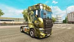 Peles de Bebidas Energéticas no tractor Scania R700 para Euro Truck Simulator 2