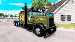 WW2 Estilo de pele para o caminhão Peterbilt 389 para American Truck Simulator