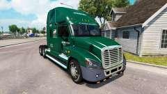 Para a pele do INTERESTADUAL de caminhão Freightliner Cascadia para American Truck Simulator