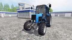 MTZ-82.1 Bielorrússia turbo para Farming Simulator 2015