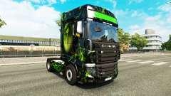 A pele do Monstro no trator Scania R700 para Euro Truck Simulator 2