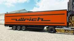 Pele Ullrich no semi-reboque-geladeira para Euro Truck Simulator 2