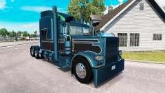 2 Metalizado pele para o caminhão Peterbilt 389 para American Truck Simulator