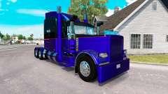 3 Metalizado pele para o caminhão Peterbilt 389 para American Truck Simulator