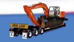 Uma coleção de trailers com diferentes cargas de v1.2 para American Truck Simulator