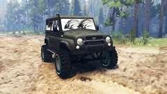 UAZ-3159 bares para Spin Tires