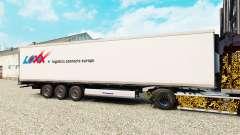 Pele LOXX Logística para o semi-refrigerados para Euro Truck Simulator 2