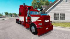 Скин Rethwisch de Transporte LLC на Peterbilt 389 para American Truck Simulator