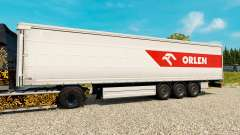 Pele PKN ORLEN para reboques para Euro Truck Simulator 2