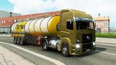 Uma coleção de caminhão de transporte de e para o tráfego de v1.3 para Euro Truck Simulator 2
