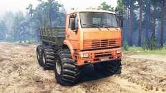 KamAZ-6522 Monstro para Spin Tires
