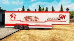 Semi-reboque-o frigorífico TruckSim para Euro Truck Simulator 2