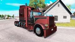Metalizado pele para o caminhão Peterbilt 389 para American Truck Simulator