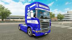 Pele T. van der Vijver no tractor Scania para Euro Truck Simulator 2