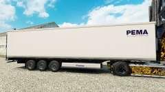 Pele PEMA para o semi-refrigerados para Euro Truck Simulator 2