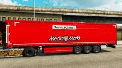 Pele Media Markt para reboques para Euro Truck Simulator 2