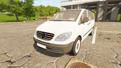Mercedes-Benz Viano 2005 para Farming Simulator 2017