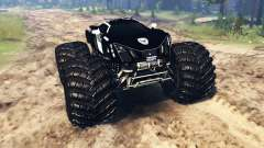 Marussia B2 Police [monster truck] para Spin Tires