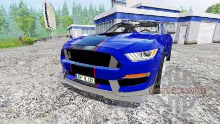 Ford Mustang GT para Farming Simulator 2015