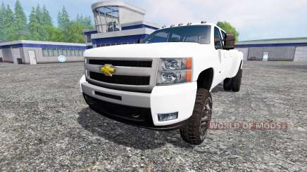 Chevrolet Silverado 3500 2008 para Farming Simulator 2015