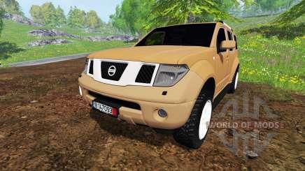 Nissan Pathfinder para Farming Simulator 2015