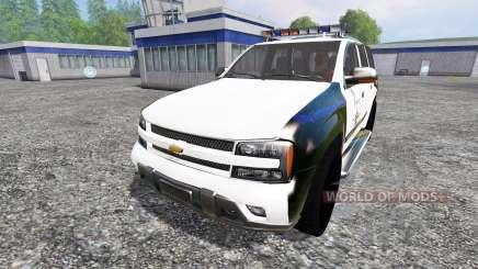 Chevrolet TrailBlazer Police K9 para Farming Simulator 2015