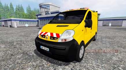 Renault Trafic [werkstattwagen] para Farming Simulator 2015