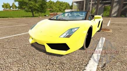 Lamborghini Gallardo Spyder para Farming Simulator 2017