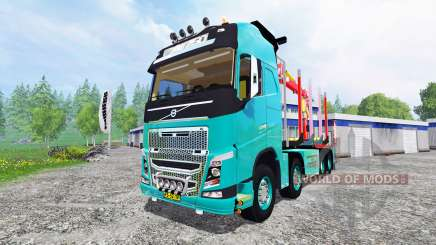 Volvo FH [forest] para Farming Simulator 2015