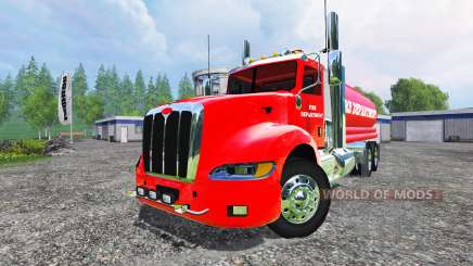 Peterbilt 387 Fire Department para Farming Simulator 2015
