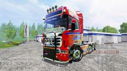 Scania R560 8x4 para Farming Simulator 2015