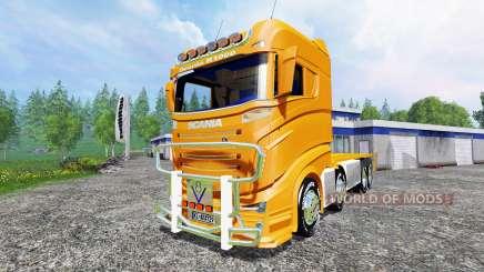 Scania R1000 [container truck] para Farming Simulator 2015