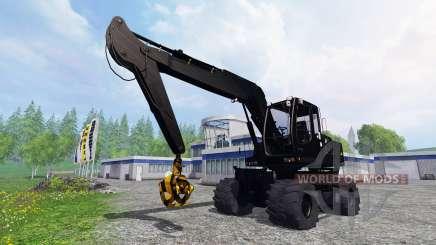 Liebherr A900C [black edition] para Farming Simulator 2015