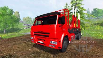 KamAZ-65117 6x4 [madeira] para Farming Simulator 2015