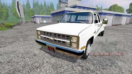 Chevrolet Silverado 3500 1984 para Farming Simulator 2015